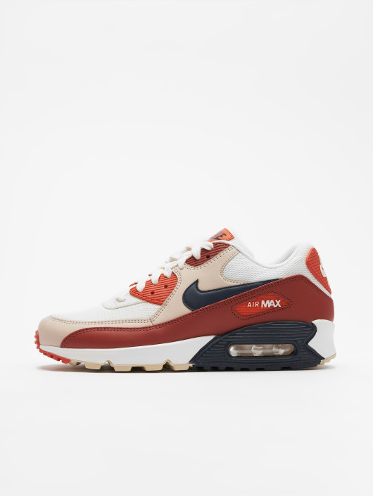 ... Nike Baskets Air Max `90 Essential rouge ...