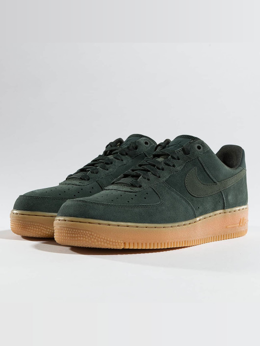 site réputé 5f01c 91163 Nike Air Force 1 '07 LV8 Suede Sneakers Outdoor Green/Outdoor Green