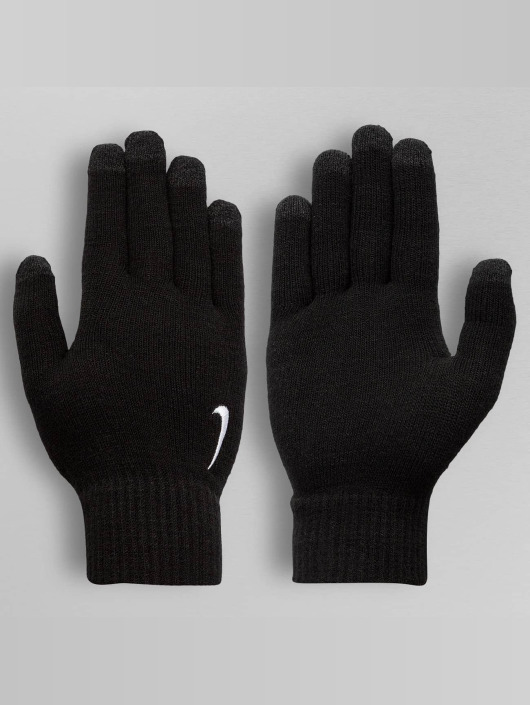 nike performance handschuhe knitted tech in schwarz 259350. Black Bedroom Furniture Sets. Home Design Ideas