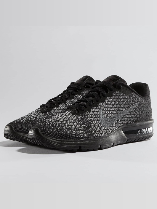 outlet store 50011 0e2d3 Nike Performance Sneakers Air Max Sequent 2 svart ...