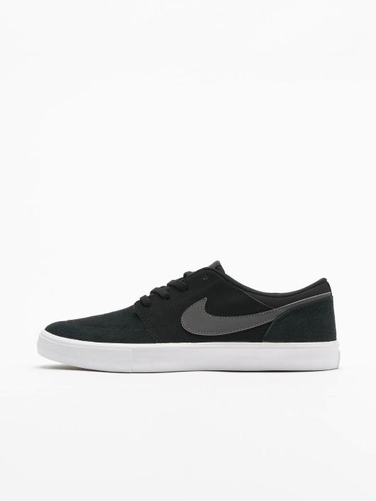 Nike SB Сникеры Solarsoft Portmore ll черный