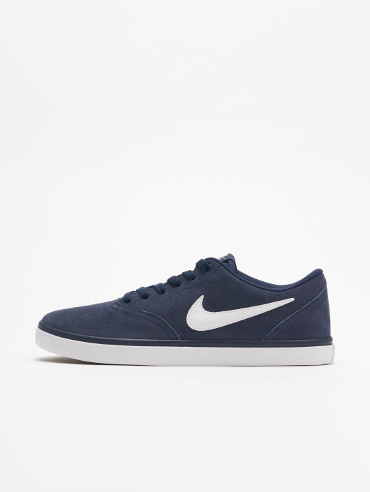 meilleures baskets 577b7 9a088 Nike SB Check Solarsoft Skateboarding Sneakers Navy