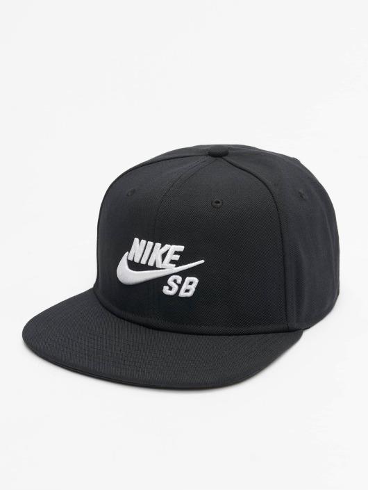... Nike SB Snapback Caps SB Icon Pro musta ... 0cd6208528