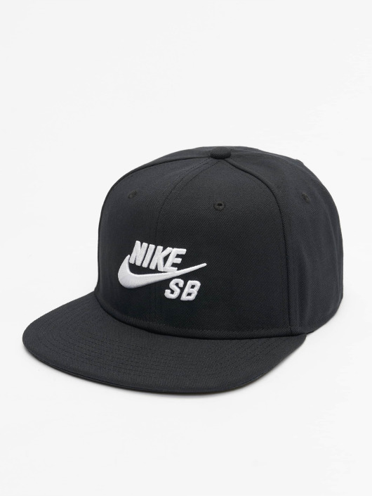 ... Nike SB Snapback Caps SB Icon Pro musta ... aecef11c6a