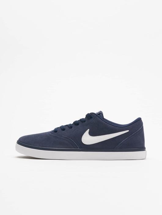 Nike SB Sneaker Check Solarsoft Skateboarding blau