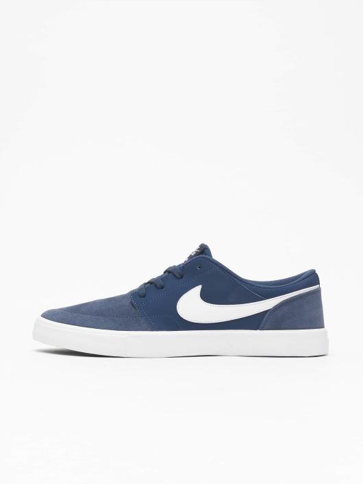 half off 1e20a 638db ... Nike SB sneaker Solarsoft Portmore ll blauw ...