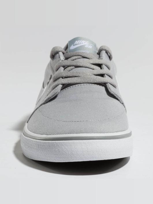 Nike SB Sneaker SB  Solarsoft Portmore II Canvas Skateboarding grau