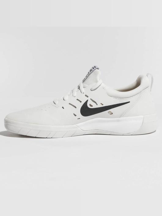 buy online 0f742 777f9 ... Nike SB Sneaker Nyjah Free Skateboarding weiß ...