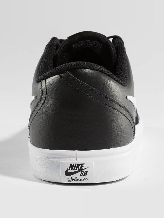 Nike SB Sneakers SB Check Solarsoft Skateboarding black