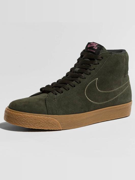 Nike SB Sneakers Zoom Blazer Mid brown