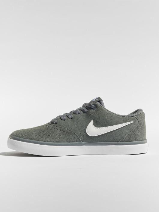 Nike SB Sneakers Check Solarsoft Skateboarding grå