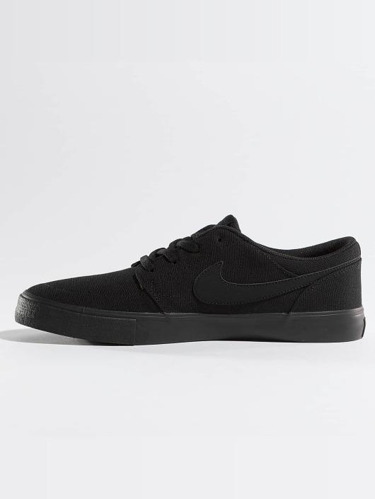 the latest e50b0 6f8bd ... Nike SB Sneakers Solarsoft Portmore II svart ...