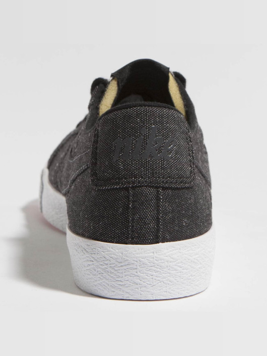 online store 79676 2169d Nike SB Skor / Sneakers Zoom Blazer Low Canvas Deconstructed i svart ...