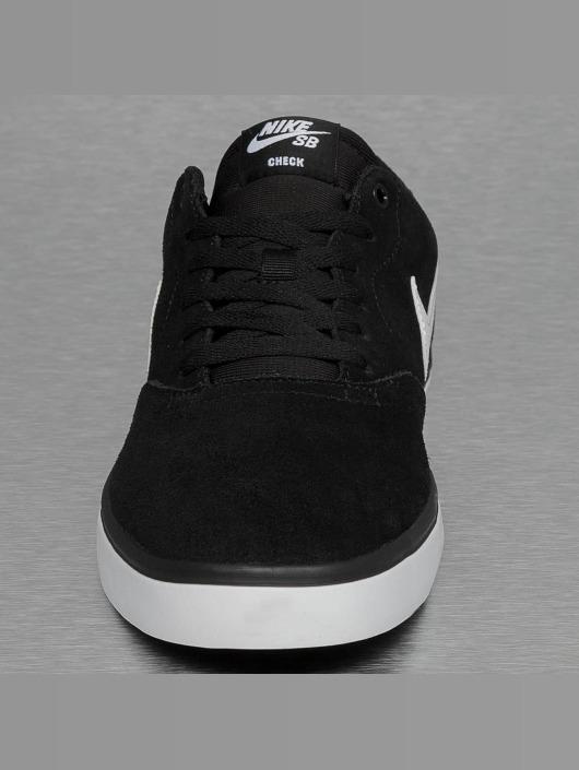 Nike SB Tøysko SB Check Solarsoft svart