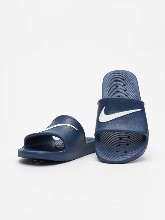 865564217f6 Nike schoen / Slipper/Sandaal Kawa Shower Slide in blauw 422216