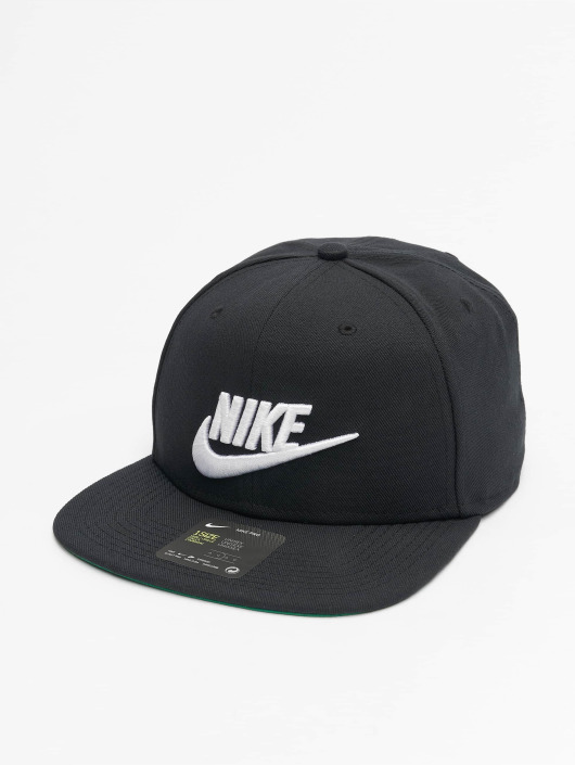 ... Nike Snapback Caps Sportswear Futura Pro musta ... 9b86c0f839