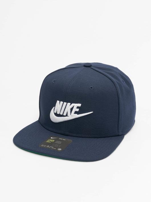 Nike Snapback Caps Sportswear Futura Pro niebieski
