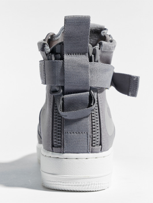 Nike Sneaker Sf Air Force 1 Mid grau