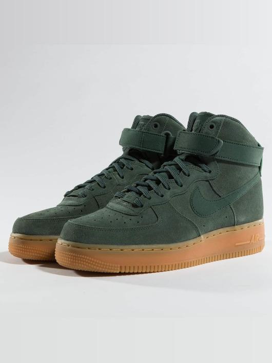 Nike Damen Sneaker Air Force 1 Hi Se in grün 364621