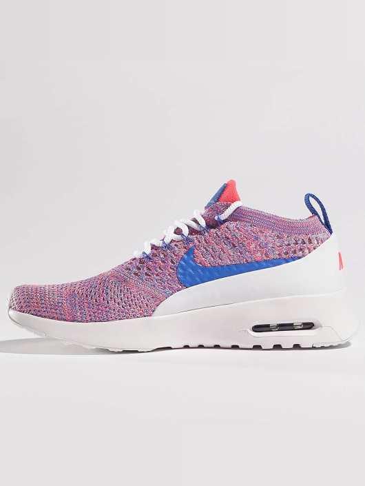 Nike Air Max Thea Ultra Flyknit Sneakers WhiteMedium BlueRacer Pink