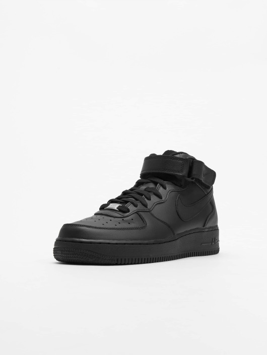 801a2a1cf93069 Nike Herren Sneaker Air Force 1 Mid  07 Basketball Shoes in schwarz ...