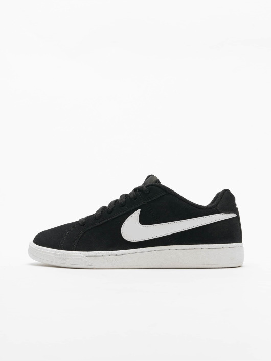 Nike Court Royale Suede Sneakers Black/White