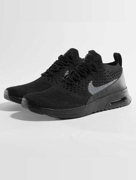 Nike Air Max Thea Ultra Flyknit Sneakers Black/Dark Grey