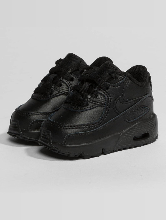 Nike Air Max 90 Leather Toddler Sneakers BlackBlack