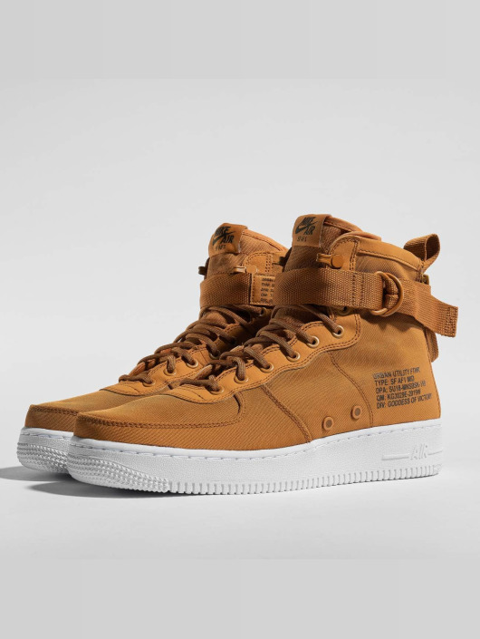new product a9c81 3529f ... Nike Sneakers SF Air Force 1 Mid brun ...