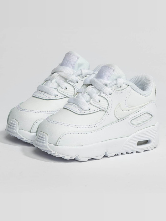 4a7ce79fa74 Nike Sko / Sneakers Air Max 90 Leather Toddler i hvid 382002