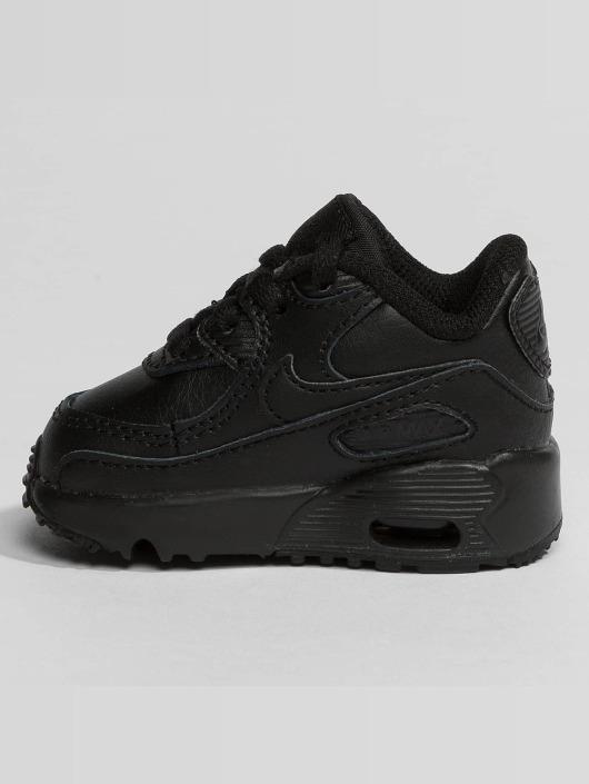 Nike Air Max 90 Leather Toddler Sneakers BlackBlack
