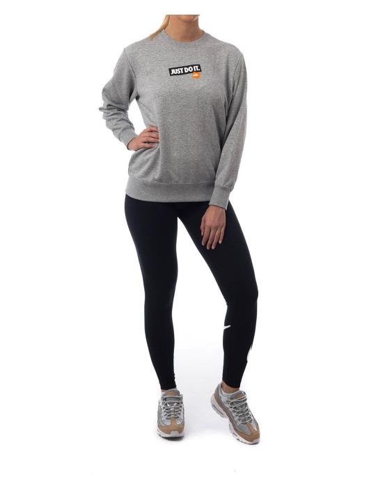 Nike Swetry Nsw Crew Ft Jdi szary