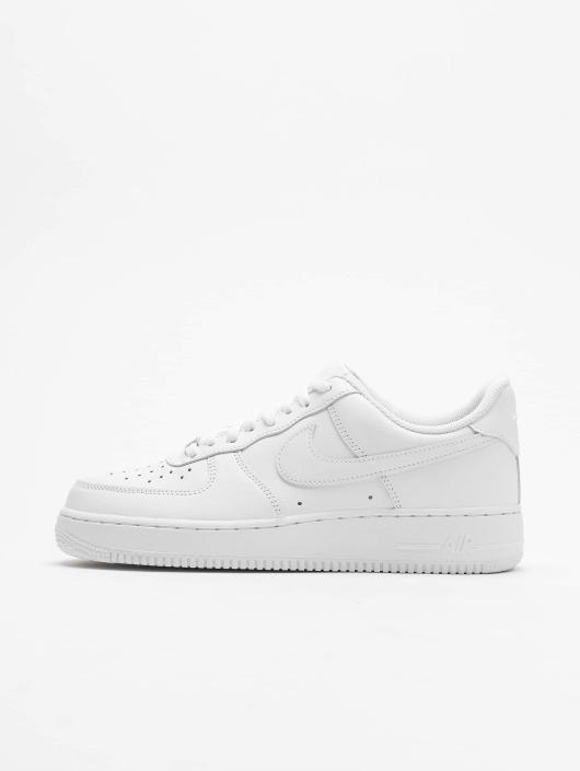 Nike Tøysko Air Force 1 '07 Basketball Shoes hvit