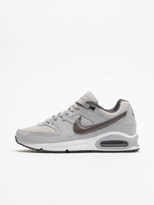 Air Max Leather 256990 Command Harmaa Tennarit Nike Kengät OwqUP57v