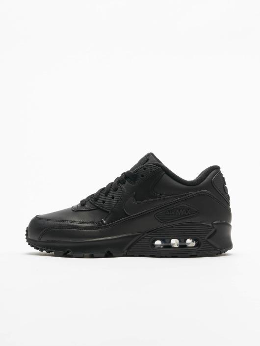 best website da32c 412e9 ... Nike Tennarit Air Max 90 Leather musta ...