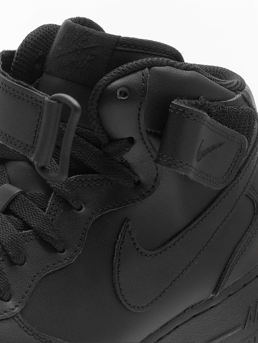 sale retailer 4cd1c 7b088 ... Nike Tennarit Air Force 1 Mid  07 Basketball Shoes musta ...