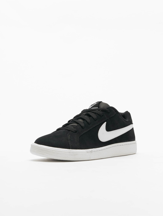 release date d6cc7 36c1d ... Nike Tennarit Court Royale Suede musta ...