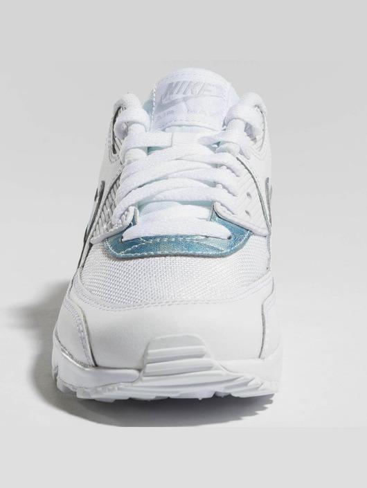 Nike Zapatillas de deporte Air Max 90 Mesh (GS) blanco