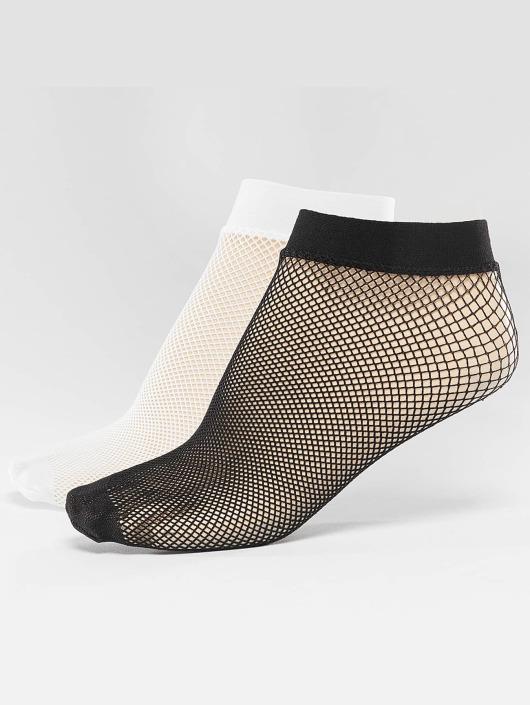 Nümph Sokker 2-Pack Aranza Net svart