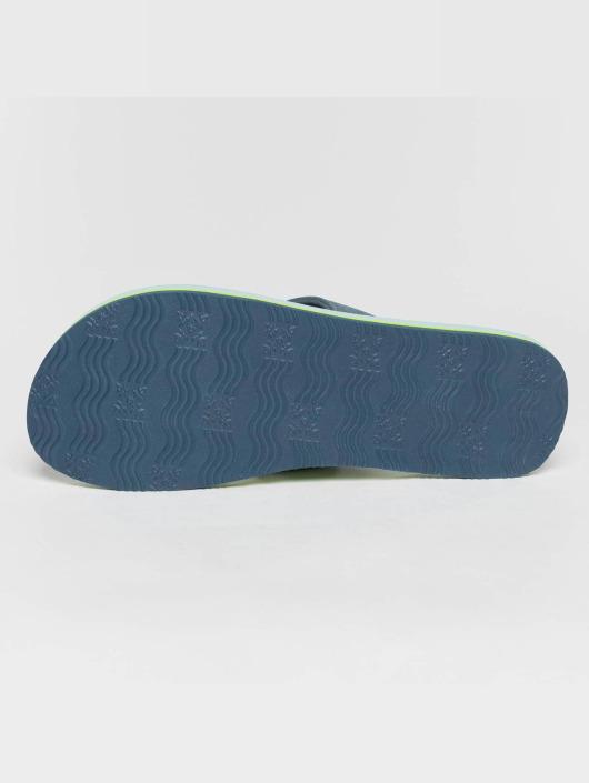 Oxbow Badesko/sandaler Vigliano Printed EVA blå