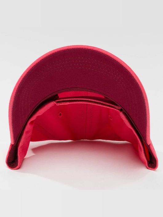 Oxbow Snapback Cap Elia Embroidered Plain pink