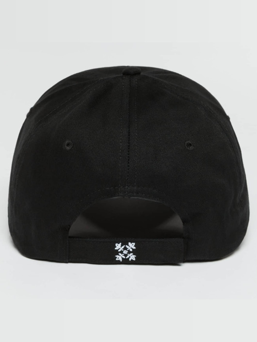 Oxbow Snapback Caps Eremo Solid musta