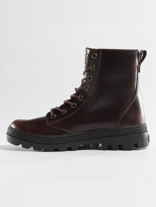 Palladium Boots Pallabosse Off Lea marrón
