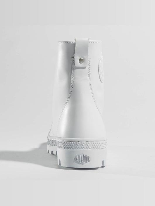 Palladium Boots Pallabosse Off Lea white