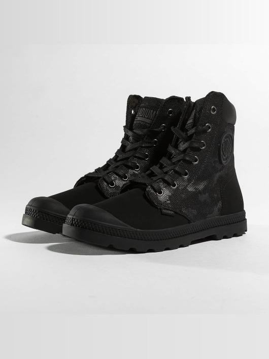 new style 6ff37 b9f2b ... Palladium Chaussures montantes Pampa Hi Knit LP Camo noir ...