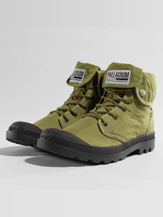 Camp 411641 Montantes Olive Baggy Palladium Army Trng Chaussures Homme Cwptqa