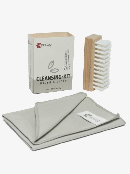 Pedag Produkty do pielęgnacji obuwia Cleansing Kit Brush & Microfiber kolorowy
