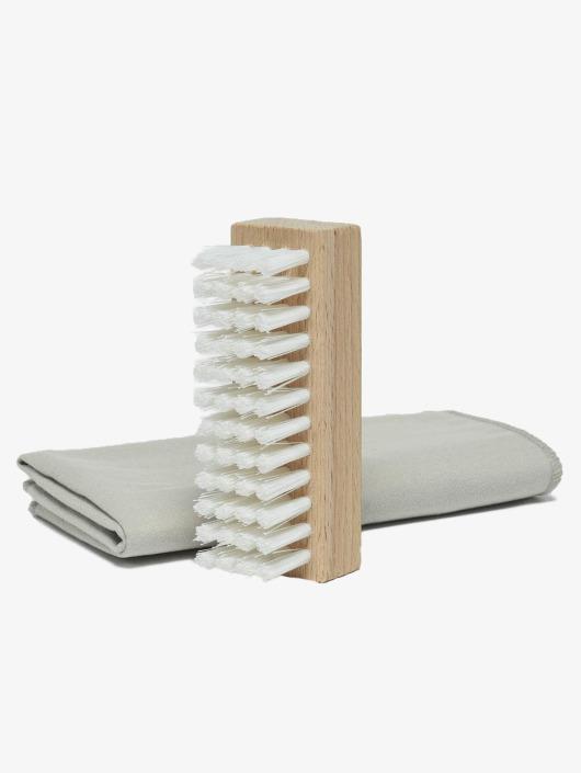 Pedag Schuhpflege Cleansing Kit Brush & Microfiber bunt