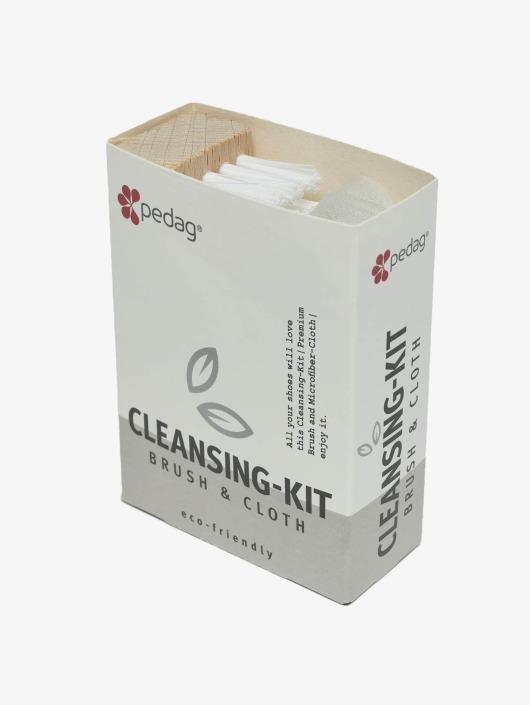 Pedag Starostlivosť o obuv Cleansing Kit Brush & Microfiber pestrá