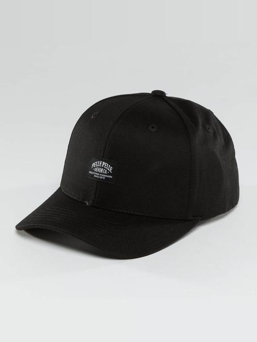 Pelle Pelle Snapback Cap Core Label schwarz